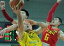 中国男篮负澳大利亚