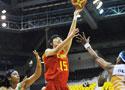 中国女篮大胜印度