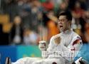 [组图]11运会击剑团体赛 广东队获男子花剑冠军