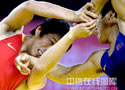 [组图]11运会古典式摔跤赛况 各队选手激烈对决
