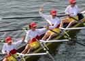 女子轻量2km四人双桨