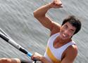 张亮2km单人双桨夺冠