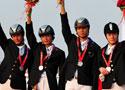 [组图]十一运会马术三项赛团体赛上海队夺冠