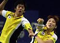 [组图]-中国羽球公开赛 李龙大/李孝贞晋级八强