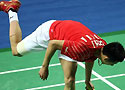Chen Jin stops in semis of MS