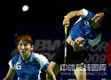 [组图]-中国羽球公开赛 李龙大/李孝贞混双夺冠