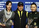 [组图]-中国羽球公开赛 谢杏芳赵婷婷宣布退役