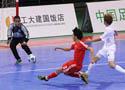 [组图]东亚足联室内五人制足球 中国队23-0关岛