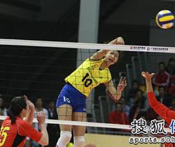 [视频]全国女排甲B联赛 广东恒大3:1广东台山