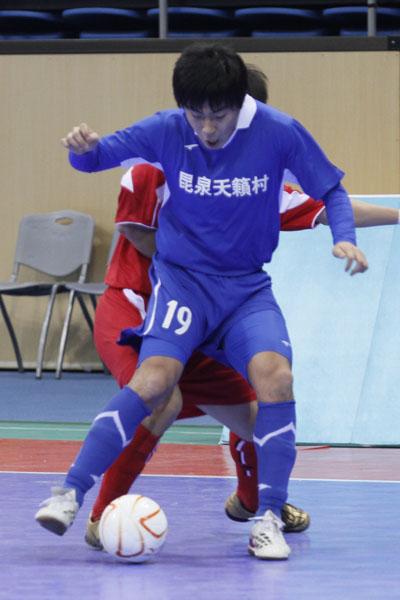 北京时间12月26日,2009-2010赛季中国足协室内五人制联赛第八轮