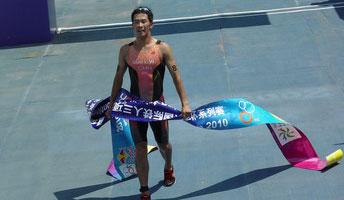 2010红牛北京国际铁人三项赛洲际杯--孙立伟夺冠