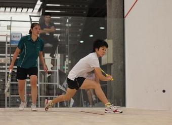 [组图]--中国壁球巡回赛在广州亚运体育馆举行