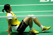World champion Wang Lin quits due to injury