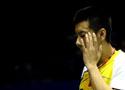 [组图]中国羽毛球大师赛第二轮 陈金因伤退赛