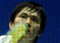 [组图]中国大师赛男单次轮 鲍春来2比0队友晋级