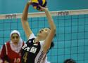 第二届亚洲女排赛A组 中国队首战3比0胜伊朗