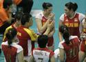 第二届亚洲女排赛 中国3比0轻取哈萨克斯坦取两连胜