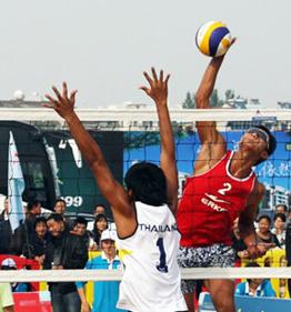 2010年亚洲沙滩排球巡回赛湖北咸宁站第二天