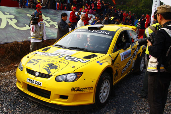 2010 APRC China Rally - Proton on the Podium and Cusco take the Asia Cup