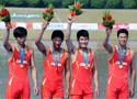 男子四人单桨决赛中国夺冠