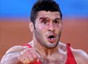 男子自由式摔跤96kg级赛况