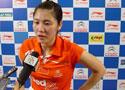 中国羽毛球公开赛女单半决赛:蒋燕皎2-0王仪涵