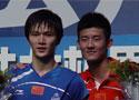 中国羽毛球公开赛谌龙2-1胜鲍春来夺得男单冠军