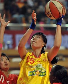WCBA第十轮 八一主场87比85险胜浙江