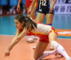 中国女排联赛A组(10-11)第五轮 恒大3:0辽宁