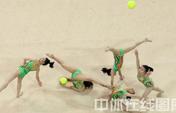 全国艺术体操集体锦标赛落幕 四川队成最大赢家