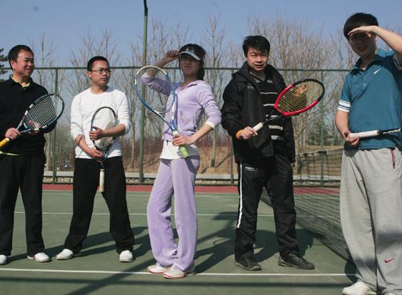 网球主题游-龙湾别墅