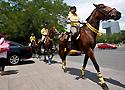 """[视频]-倡导绿色出行 """"骑马出行周""""活动举行"""