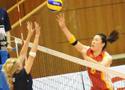2011年中美青年女排对抗赛 北航1比3不敌对手