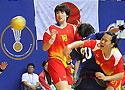 中国女手21-26不敌日本