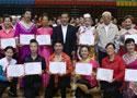 [组图]2011年全国老年人健身球操交流活动颁奖仪式