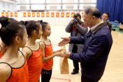 国家体育总局领导看望备战奥运的运动队