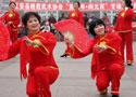 [组图]四川省江安县老体协庆龙年闹新春文体展