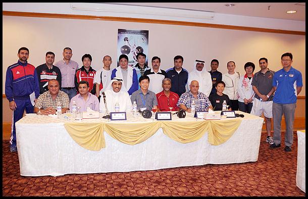 第16届亚洲壁球团体锦标赛开幕式在科威特举行