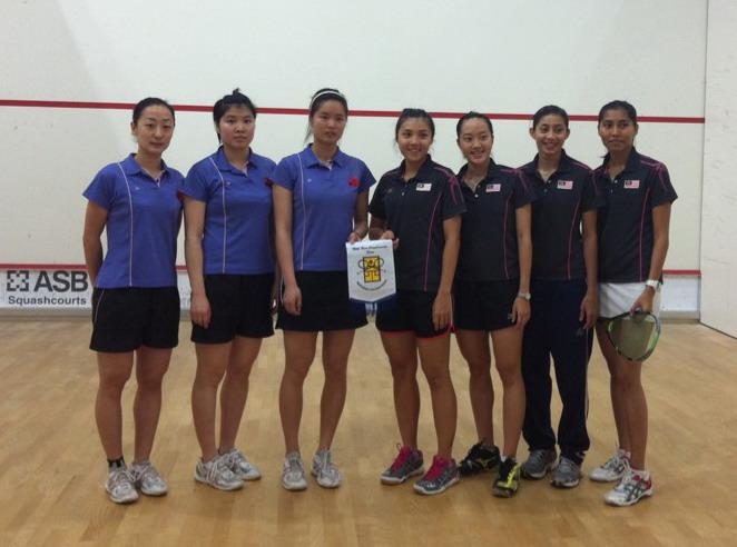 [组图]--中国壁球队参加在科威特举行的亚锦赛