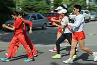剑指伦敦-竞走队举行世界杯后首次公开课