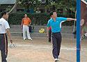 [组图]全国柔力球培训班-学员进行竞技柔力球比赛