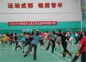 [组图]2012全国柔力球培训班-学员进行套路学习
