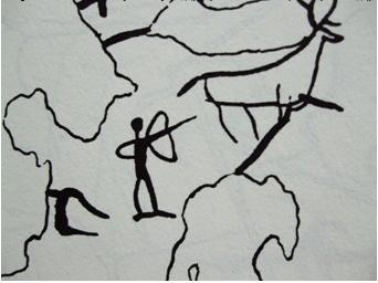 简笔画 手绘 线稿 342