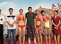 全国沙滩手球锦标赛敦煌举行