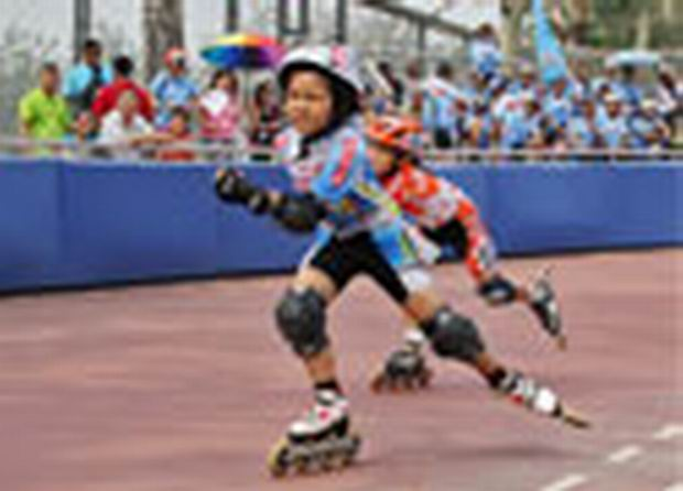 北京体育大会轮滑赛