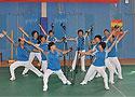 [组图]2012年第二届越野行走手杖操比赛在京举行