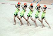 2012艺体全锦赛扬州开赛