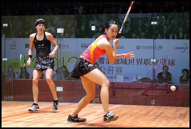 职业壁球中国公开赛半决赛 刘薇雯VS凯西.布朗