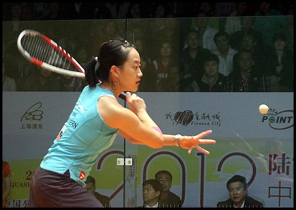 2012世界职业壁球中国公开赛 刘薇雯VS芝姬祖.金