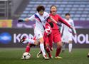 四国赛:中国2-0韩国
